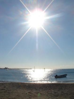 1月2日逗子海岸