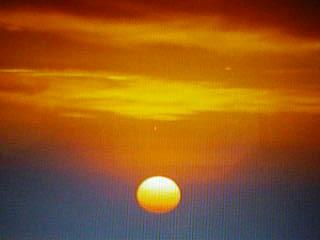 佐島の夕照