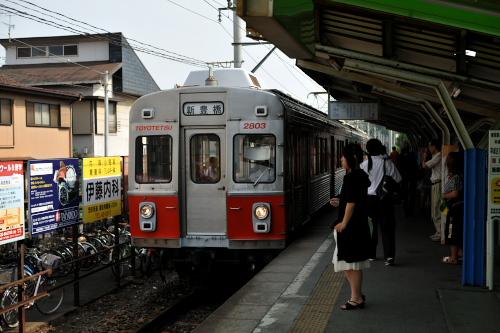 豊橋鉄道 渥美線 #2 南栄駅と杉...