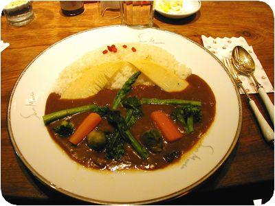 春野菜のカリー