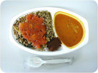 SHANTI SET(トマトのマリネ)+そぼろ肉+激辛ペースト