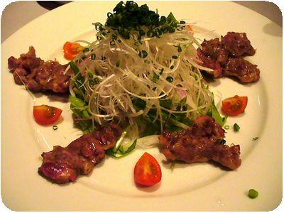 桜肉炙り焼きサラダ