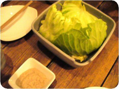 キャベツとアンチョビのサラダ