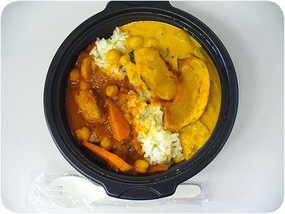 マサラチキン&野菜カレー