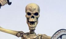 骸骨剣士バナー