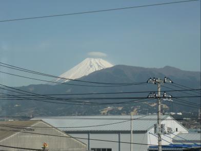 今日の富士山 &ブログ