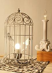 鳥篭ランプ
