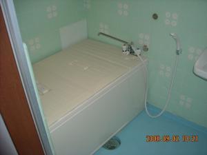 交換取付した浴槽