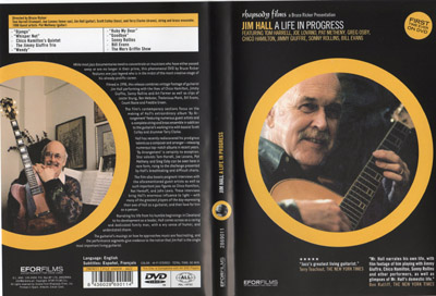 Jim Hall A Life In Progress DVD