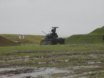 87AW射撃姿勢