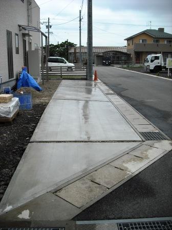 駐車場土間コンクリート