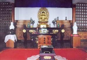 潮音寺の内部