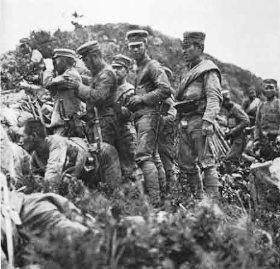 日露戦争の日本兵