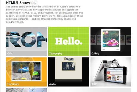 HTML5 Safari Show Case
