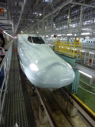 九州新幹線 N700系 (イベントでの車内見学から・・)