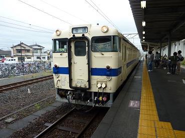 宇土駅にて