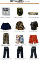 A BATHING APE 2006S/S BAPE パンツ 小物画像