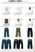 APEE BY A BATHING APE 2006S/S Tシャツパンツ画像