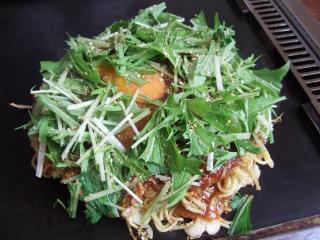 水菜お好み焼き
