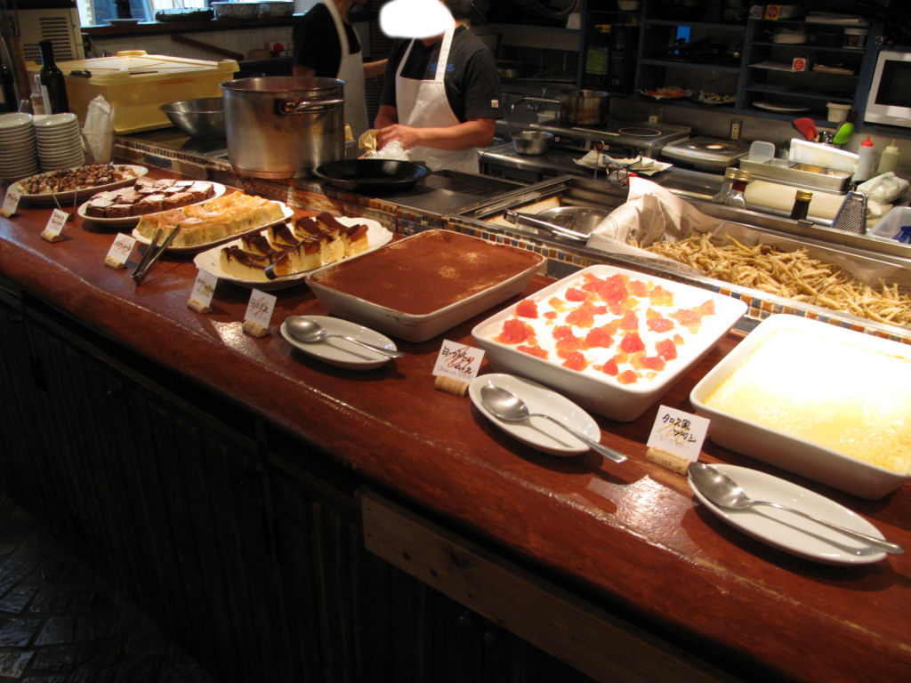 「Taverna & bar ITALIANO Tharros(タロス)」 デザートビュッフェ ...