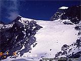 元のヒマラヤ氷河