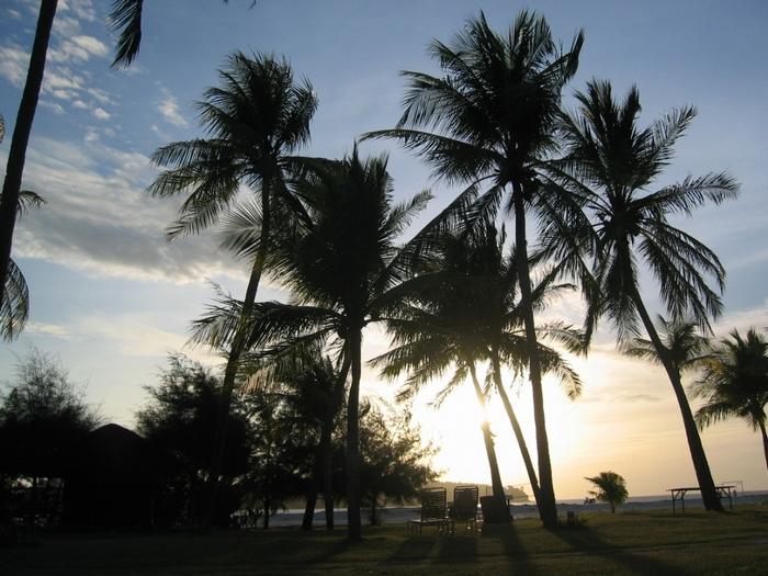 ランカウイ島 夕日