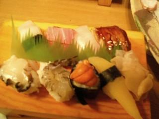 廻らないお寿司③